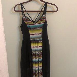 Multicolor Maxi Dress